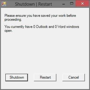 shutdown-restart