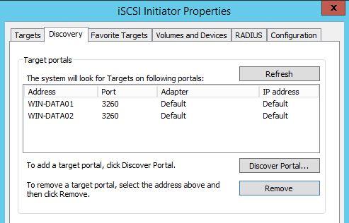 Creating a Server 2012 Failover Cluster for iSCSI target « rakhesh com