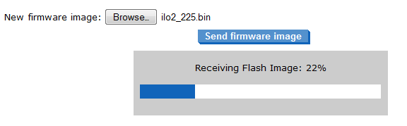GUI firmware flashing