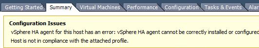 HA-error