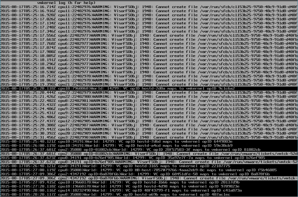 alt+f12 logs