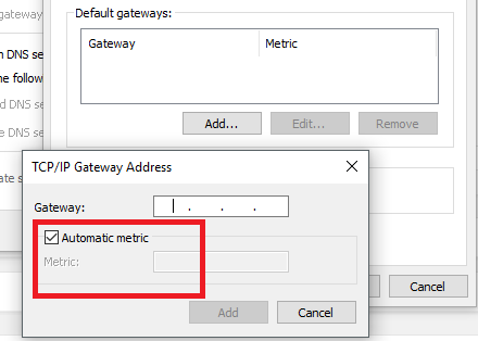 gateway metric