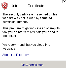 untrusted-cert