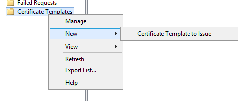 Creating an ad certificate for netscaler 105 rakhesh if you get any error about missing templates here its possible you havent added the web server template to your ca templates you can via this menu yadclub Images