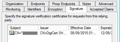 Notes on ADFS Certificates « rakhesh com