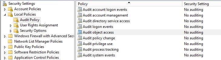 GPO audit policies not applying « rakhesh com