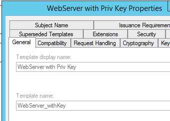 Generating certificates with san in netscaler to make it work the template name webserverwithkey is the name of the template need to use that with the certreq command instead of the display name yadclub Image collections